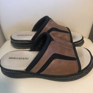 Canyon River Blues Leather Sandals
